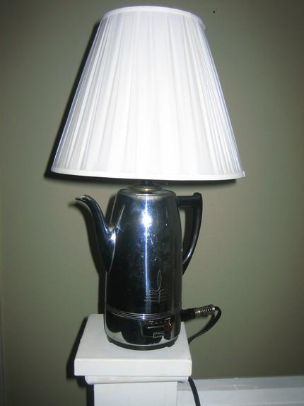 Светильник своими руками из электрического чайника