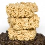 Печенье из воздушного риса со вкусом кофе
