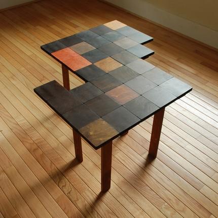 Столик для кофе из частей-паззлов