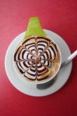 Топинг этчинг на кофе