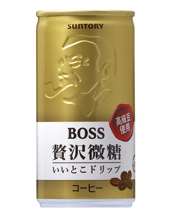 """баночный кофе """"Босс"""" (Япония)"""