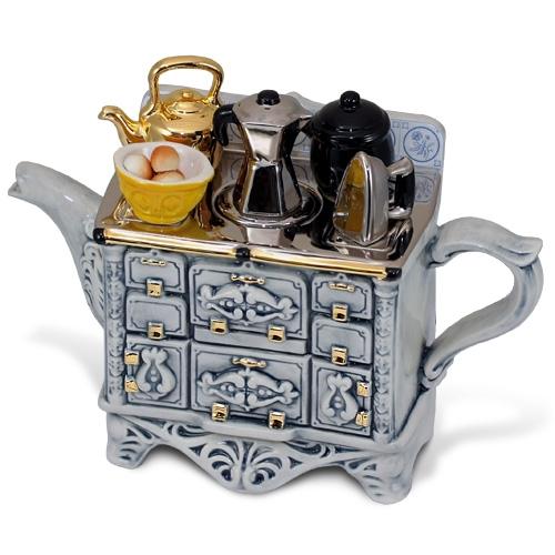 """Необычный чайник """"Французский завтрак"""""""