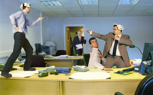 День шефа в офисе