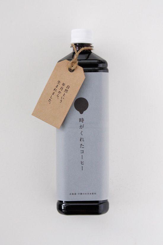 Дизайн бутылки для кофе