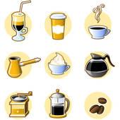 Иконки картинки по теме кофе