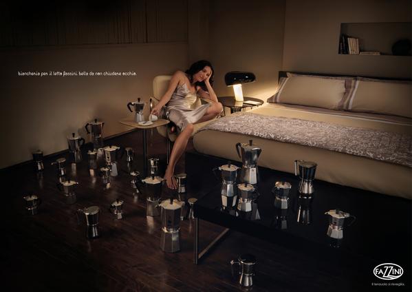 Много кофе, чтобы не уснуть - постер постельного белья