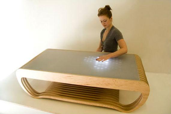Сенсорный кофейный столик