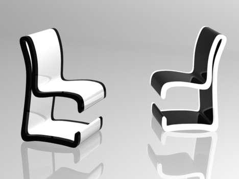 """Стол и стул """"2 в 1"""" - дизайн"""