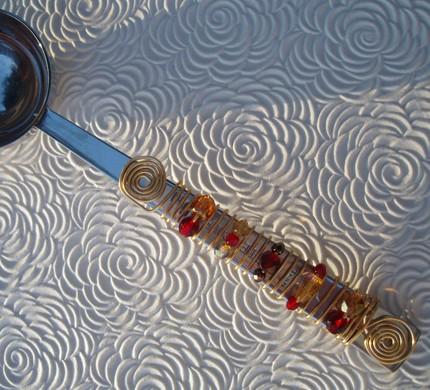Специальная мерная ложка для кофе в подарок