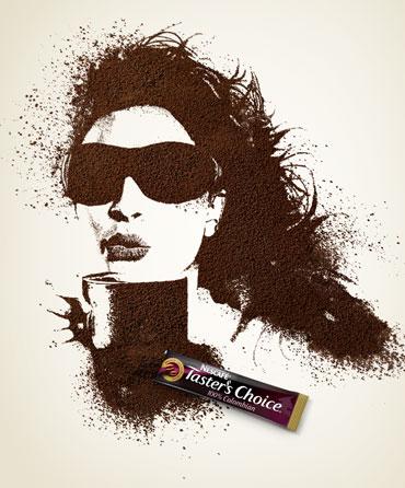 кава і дівчата, секретарки, силуети з кави