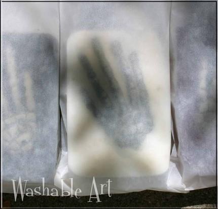 Упаковка из пергамента для подарочного мыла
